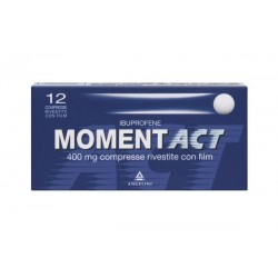 MOMENTACT 400MG 12CPR RIV