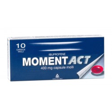 MOMENTACT 400MG 10CPS MOLL