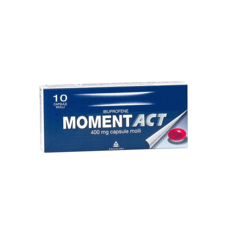 MOMENTACT 10 CAPSULE MOLLI 400MG