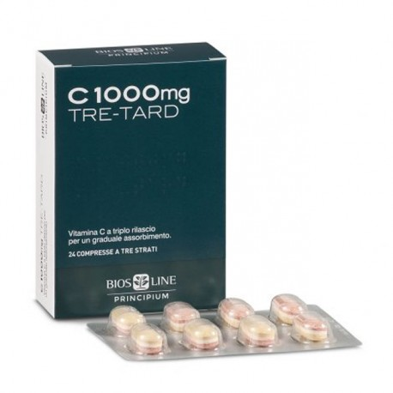 PRINCIPIUM C 1000MG TRE-TARD 24 COMPRESSE