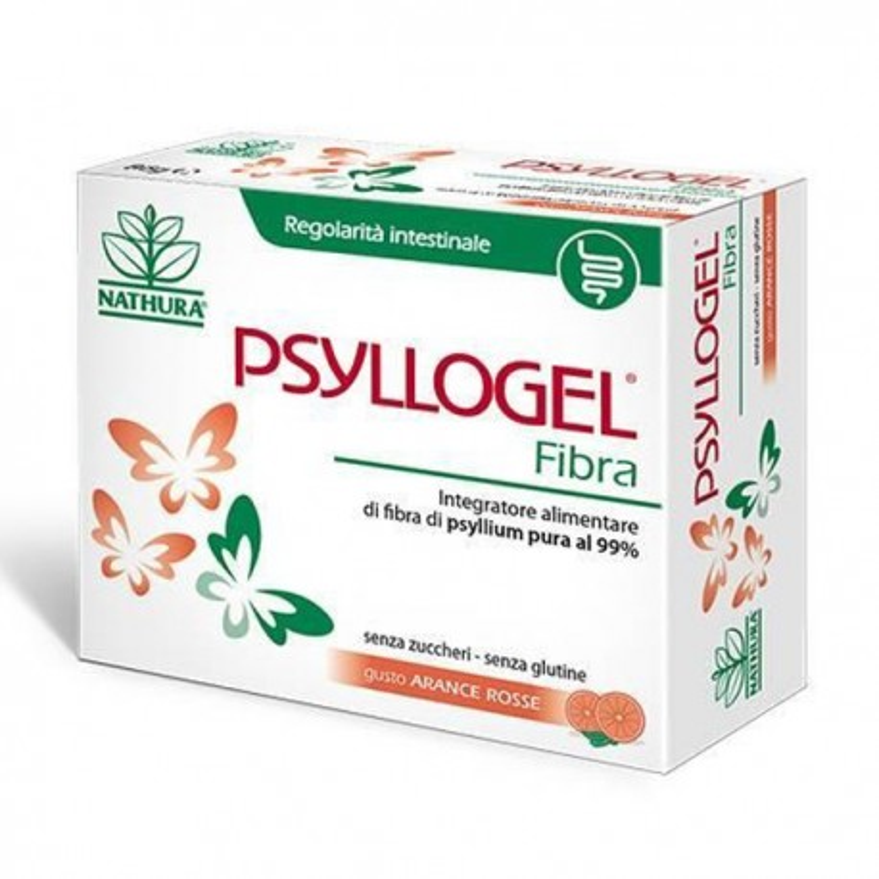 PSYLLOGEL FIBRA ARANCE ROSSE 20 BUSTE