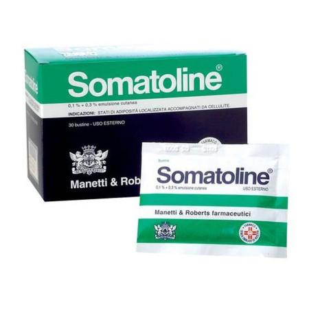 SOMATOLINE 0,1+0,3% 30 BUSTE