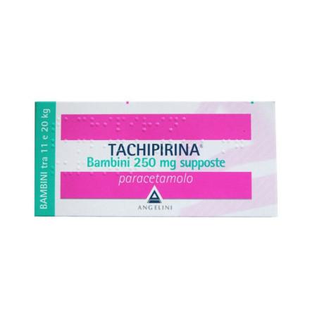 TACHIPIRINA BB 250MG 10SUP
