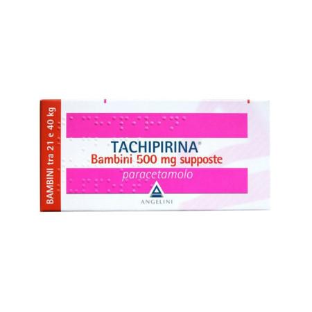 TACHIPIRINA BB 500MG 10SUP