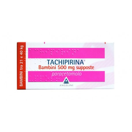 TACHIPIRINA BAMBINI 500MG 10 SUPPOSTE