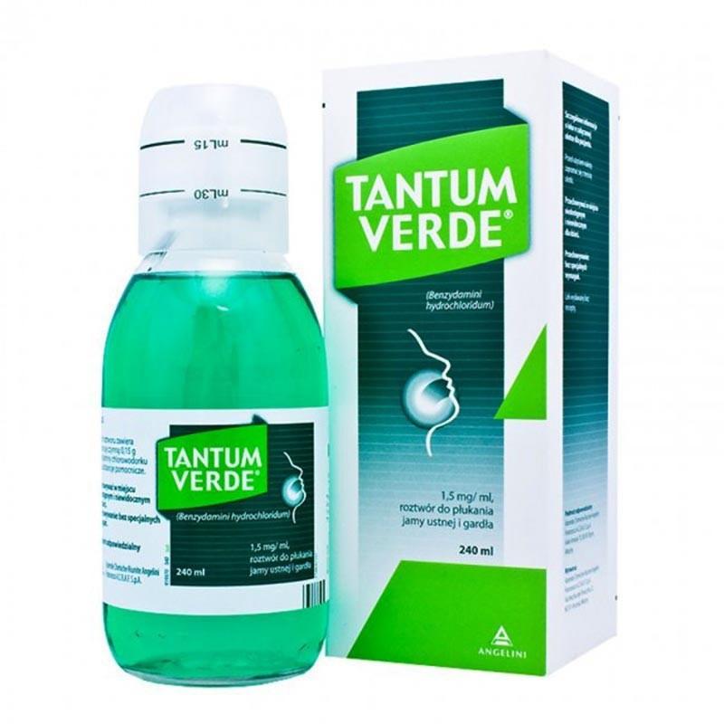 TANTUM VERDE 0,15% COLUTORIO 240ML