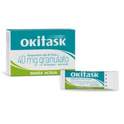 OKITASK 40MG 10BS GRAT
