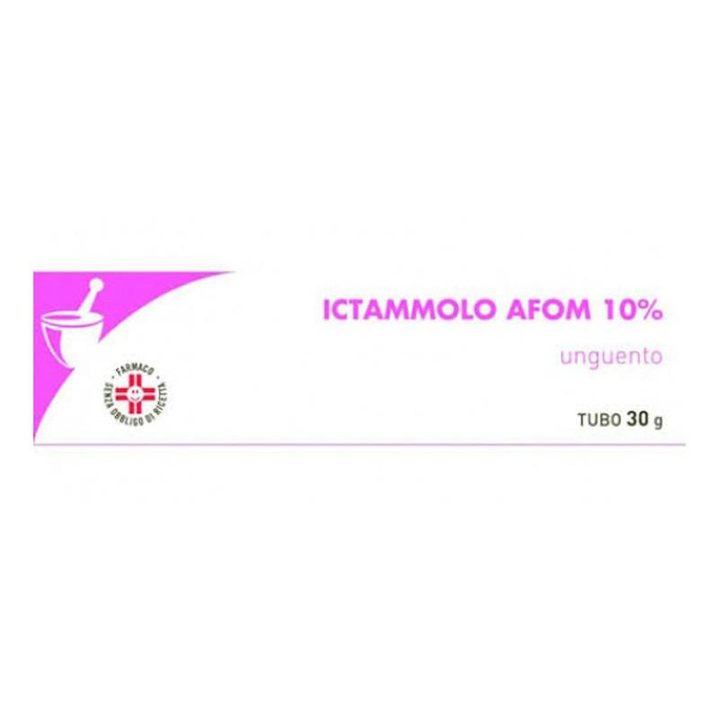 ICTAMMOLO AFOM 10% ITTIOLO UNGUENTO 30g
