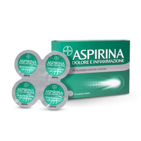 ASPIRINA DOL/INF 500 20CPR