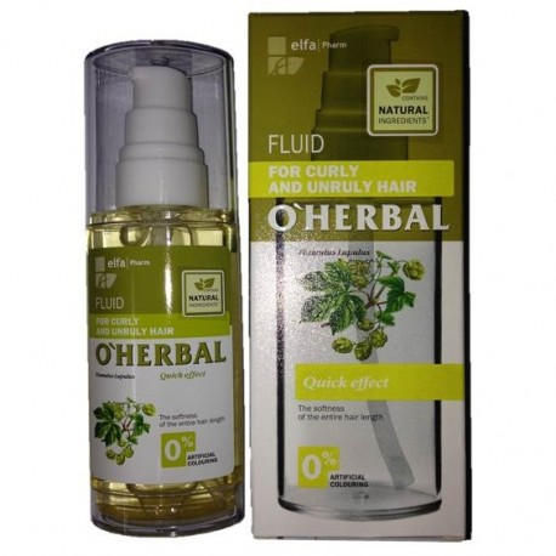 O'HERBAL FLUID CURL/UNRULY
