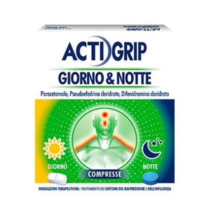 ACTIGRIP GIORNO&NOTT12G+4C