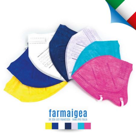MASCHERINA FFP2 NR COLORATA SMALL - ITALIANA
