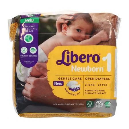 LIBERO NEWBORN 1 2-5KG 24P