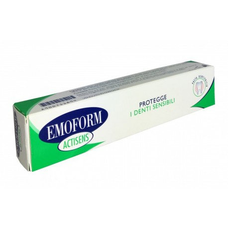 EMOFORM ACTISENS DENTIFRICIO 75ML